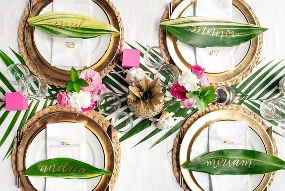 Tendencias en Decoración: Boda Tropical