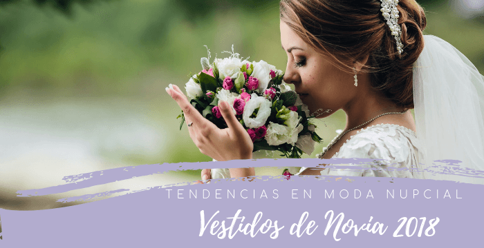 8171a9c4b Vestidos de Novia  Tendencias 2018 en Moda Nupcial