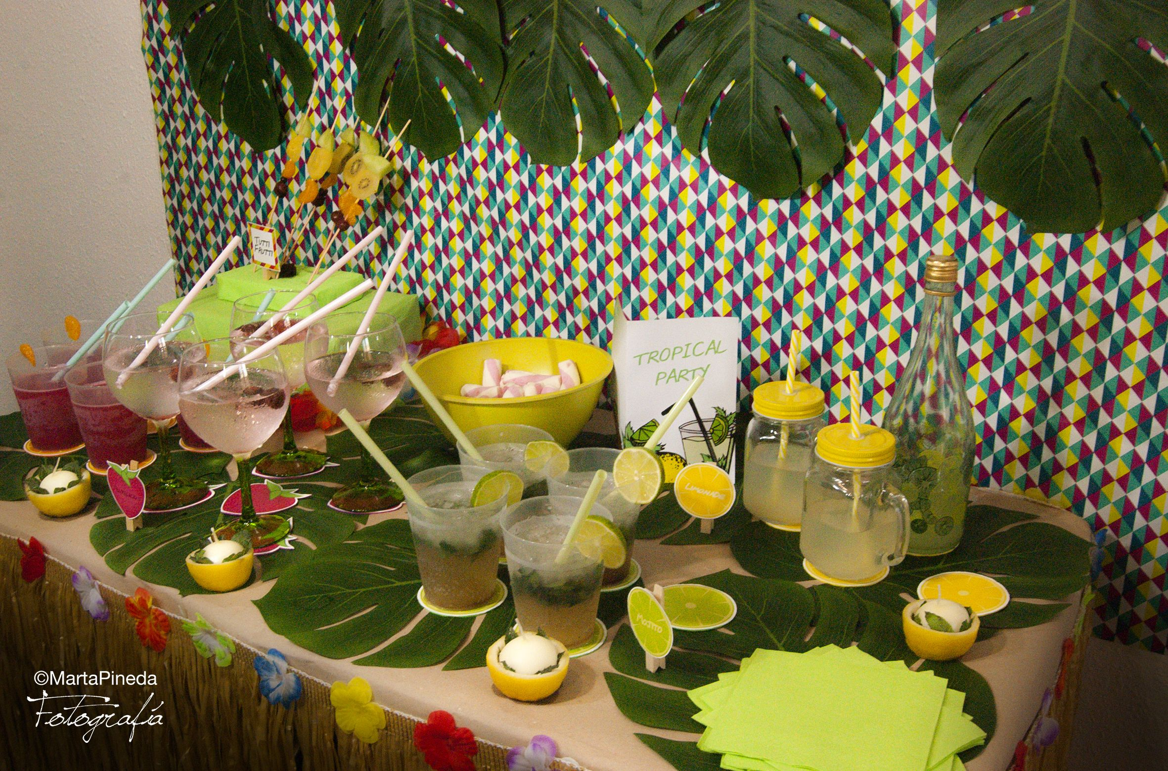 Fiesta de Cumpleaños Tropical