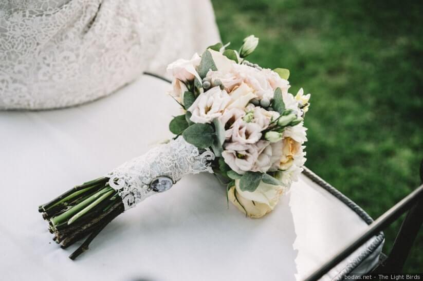 Ramo de novia tipo clutch, domo, posy o bonche