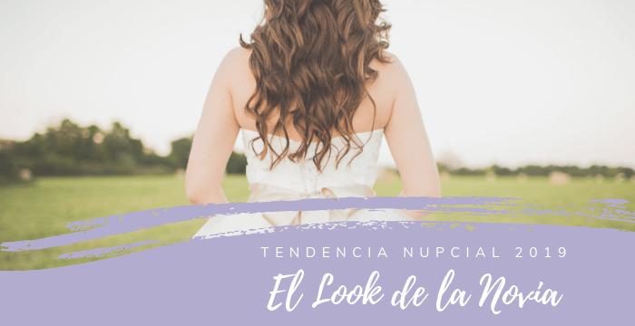 Tendencias 2019 para peinados y maquillaje de novia
