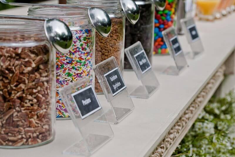 Crea tu propio helado en una boda